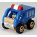<strong>Wonderworld</strong> Mini Police Car Wooden Vehicle Truck