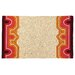 <strong>Trina Turk Residential</strong> Brawley Pink Hook Rug