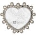 Pomona Heart with Jewels Picture Frame