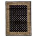 <strong>Infinity Home</strong> Barclay Black Hudson Terrace Border Rug