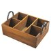 <strong>Divided Tray with Metal Handle</strong> by CBK