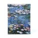 Claude Monet ''Water Lillies'' Canvas Art