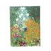 ''Farm Garden'' by Gustav Klimt Painting Print on Canvas