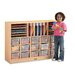 <strong>Jonti-Craft</strong> Sectional Mobile 31 Compartment Cubby