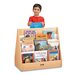 "<strong>Jonti-Craft</strong> 28"" H Rainbow Accents Pick-a-Book Stand - 2 Sided"