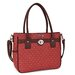 Cabrelli Inc Flower Printed Luggage Compatible Tote Bag