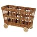 """Eco Displayware Eco-Friendly 23"""" 3 Compartment Cart"""