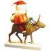 <strong>Santa on Reindeer Nutcracker</strong> by Richard Glaesser