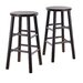 "Bevel Seat 24"" Counter Stool in Espresso"
