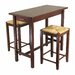 <strong>Winsome 3 Piece Counter Height Dining Set</strong> by Winsome