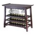 Chinois Console 25 Bottle Wine Rack