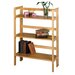 3 Tier Foldable Stackable Shelf