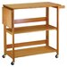 <strong>Foldable Kitchen Cart</strong> by Winsome