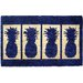 <strong>Four Pineapples Doormat</strong> by Entryways