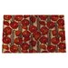 Sweet Home Poppies Doormat
