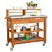 <strong>Home Styles</strong> Bali Hai Wood Potting Bench