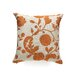 Passa Floral Silk / Cotton Pillow