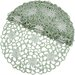 <strong>Xia Home Fashions</strong> Daisy Splendor Round Doily (Set of 4)