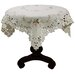 <strong>Bordeaux Embroidered Cutwork Table Topper</strong> by Xia Home Fashions