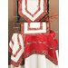 Xia Home Fashions Tartan Ribbon Embroidered Holiday Placemat