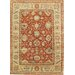 Sultanabad Light Rust/Ivory Rug