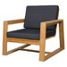 <strong>Avalon 1-Seater Lounge with Cushion</strong> by Mamagreen