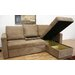 Wholesale Interiors Amul Sleeper Sectional