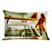 <strong>Surfer Gal Pillow</strong> by Oliver Gal