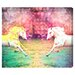 """<strong>Oliver Gal</strong> """"Unicorns Dusk"""" Graphic Art on Canvas"""
