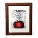 """<strong>Trademark Fine Art</strong> """"Red Apple Splash"""" by Roderick Stevens Framed Photographic Print"""