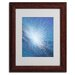 <strong>Trademark Fine Art</strong> Alan Byrne 'Sea Picture VI 2008' Matted Framed Art
