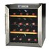 <strong>16 Bottle Single Zone Thermoelectric Built-In Wine Refrigerator</strong> by Kalorik