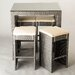 <strong>Hallandale 5 Piece Dining Set</strong> by Matrix