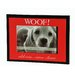 "<strong>""WOOFCold Nose...Warm Heart""  Picture Frame</strong> by LSC"
