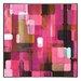 <strong>Modern Living Modular Tiles IV Framed Painting Print</strong> by Indigo Avenue