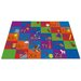 <strong>KidCarpet.com</strong> All in a Row Letter Kids Rug