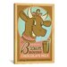 <strong>'Brown Bovine Chocolate Mile' by Anderson Design Group Vintage Adve...</strong> by iCanvasArt