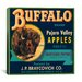 <strong>Buffalo Brand Apples Vintage Crate Label Canvas Wall Art</strong> by iCanvasArt