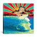 <strong>Betty Boop Surfer Canvas Wall Art</strong> by iCanvasArt