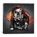 iCanvasArt 'Bad Dog' by Maximilian San Graphic Art on Canvas