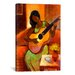 """iCanvasArt """"Ballad"""" by Keith Mallett Painting Print on Canvas"""