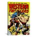 <strong>iCanvasArt</strong> Bad Man of The Wild West (Western Thrillers - Comic Books) Vintage Advertisement on Canvas