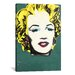 <strong>iCanvasArt</strong> Street Art 'Berlin Wall Marilyn Monroe Graffiti' by Dipsey Graphic Art on Canvas