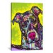 iCanvasArt 'Brindle' by Dean Russo Graphic Art on Canvas