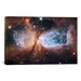 <strong>iCanvasArt</strong> Astronomy and Space Celestial Snow Angel S106 Nebula (Hubble Space Telescope) Photographic Print on Canvas