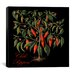 "<strong>""Chili Peppers"" Canvas Wall Art by Mindy Sommers</strong> by iCanvasArt"