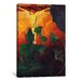 <strong>iCanvasArt</strong> 'Christ and Buddha' by Paul Ranson Painting Print on Canvas