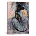 <strong>iCanvasArt</strong> 'Blue Nude' by Pablo Picasso Painting Print on Canvas