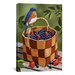 <strong>iCanvasArt</strong> 'Blueberry Basket' by William Vanderdasson Graphic Art on Canvas