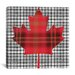 <strong>iCanvasArt</strong> Canadian Flag, Maple Leaf #8 Graphic Art on Canvas